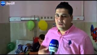 زيارة العيد للاطفال المرضى بمستشفى مصطفى باشا