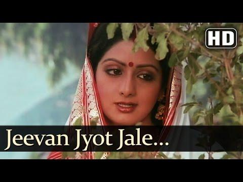 Jeevan Jyot Jale - Sridevi - Jeetendra - Aulad - Bollywood Songs - Kavita Krishnamurthy