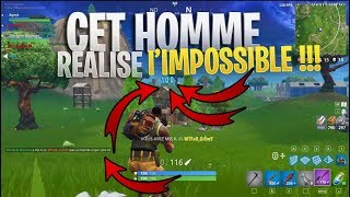 THIS REALMAN THE IMPOSSIBLE ON FORTNITE BATTLE ROYALE! FLESH ROUJ LOL