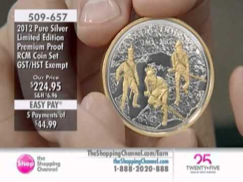 Royal Canadian Mint 2012 Pure Silver Proof Set at The Shopping Channel 509657