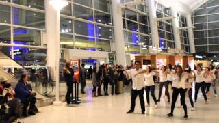 Airport Flash Mob Proposal