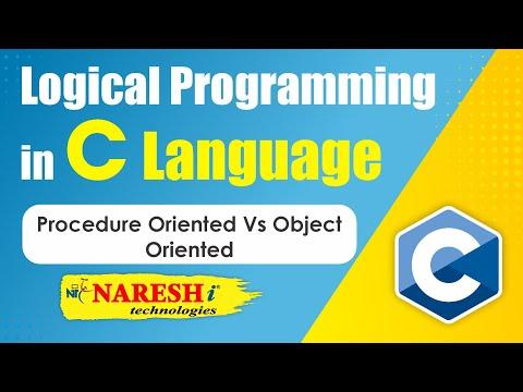 Procedure Oriented Vs Object Oriented | C Logical Programming By Mr.Srinivas
