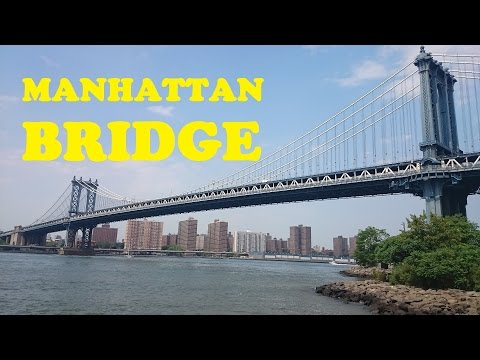 Chinatown - Manhattan Bridge - Downtown Brooklyn - Driving NYC