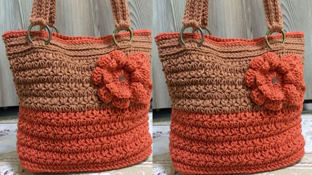 bolsas y carteras modernas a crochet y ganchillo n 04