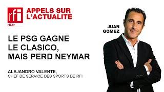PSG gagne le clasico, mais perd Neymar
