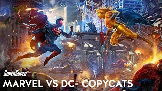 Marvel VS Dc - Top 10 Copy Cat Characters | Explained in HINDI