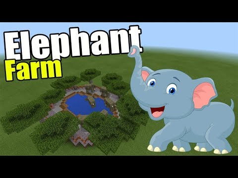Elephant Farm | Minecraft PE