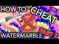 How to CHEAT at Watermarble nails - PART #2