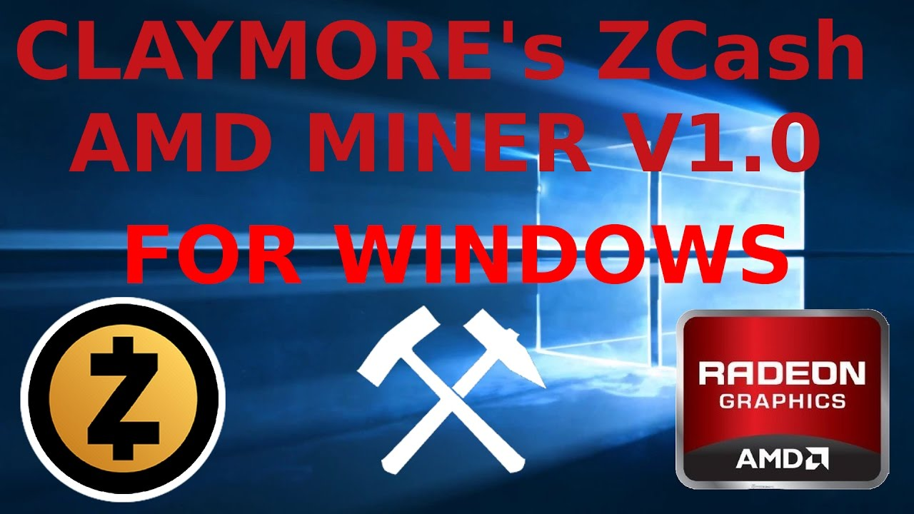 Claymore's ZCash Windows AMD GPU Miner v1 0 RX470 RX480 R9-295X2