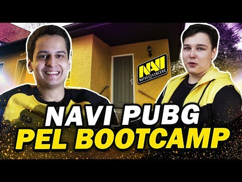NAVI PUBG PEL Gaming House Tour