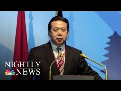 Interpol President Reported Missing After Trip To China | NBC Nightly News