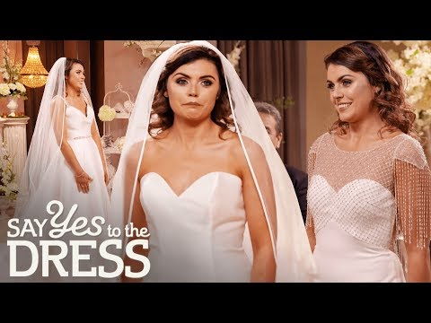 Bride Rocks Simple But Elegant Dress! | Say Yes To The Dress Ireland