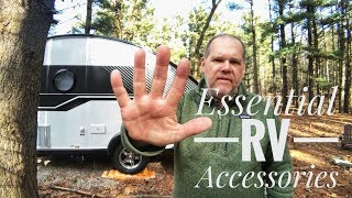 5 Essential RV Accessories for Camping in an RV