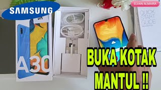 SAMSUNG GALAXY A30 MENDING 2019~ UNBOXING INDONESIA