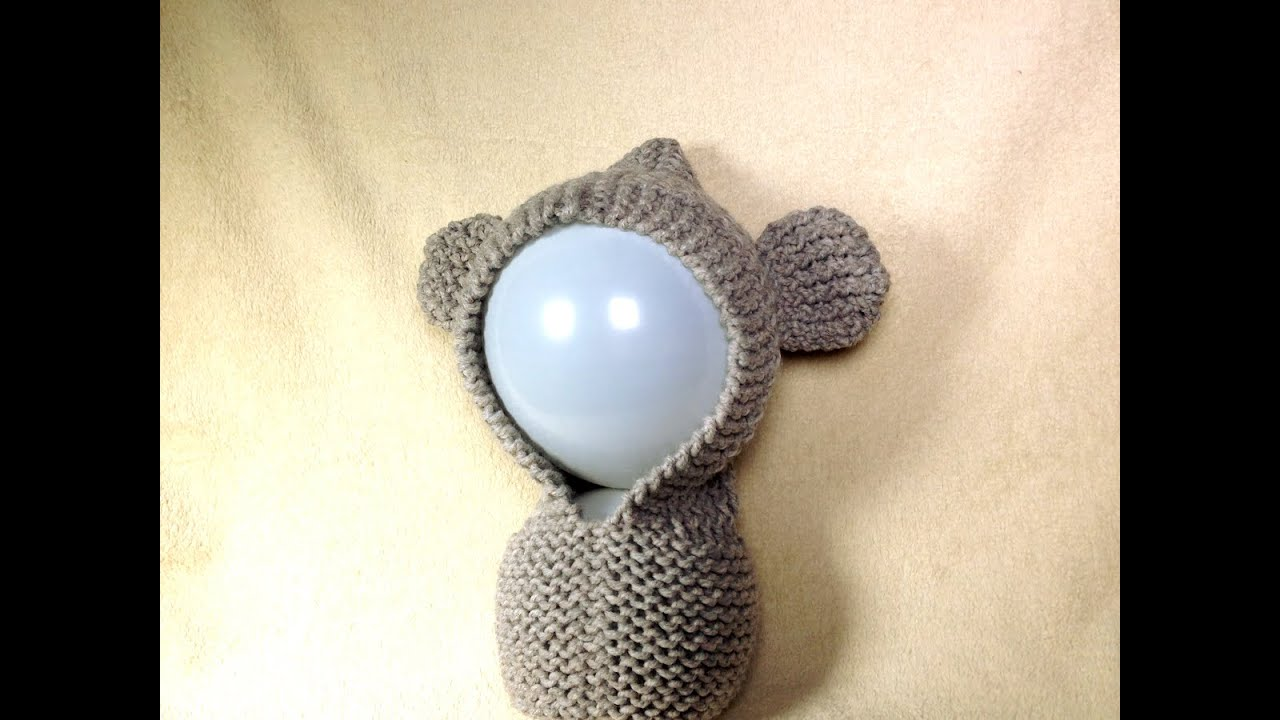 How to Loom Knit a Bear Ears Hoodie (DIY Tutorial) - YouTube
