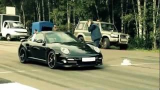 Очень красиво, спортивные машины Moskow Unlim(Безумно красивое видео с участием спортивных машин HD качество., 2011-08-26T17:52:40.000Z)