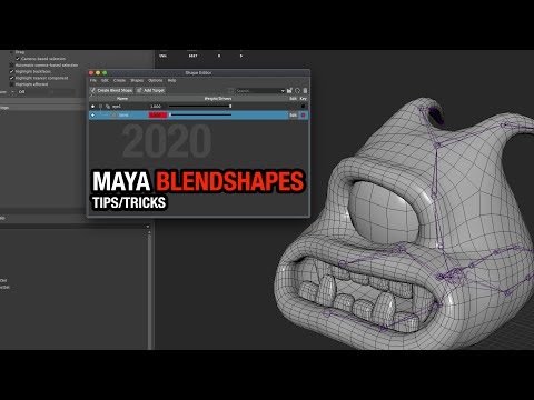 Creating BlendShapes in