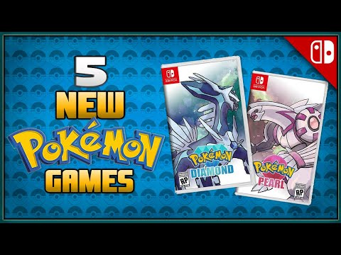 5 New Main Pokémon Games for 2021
