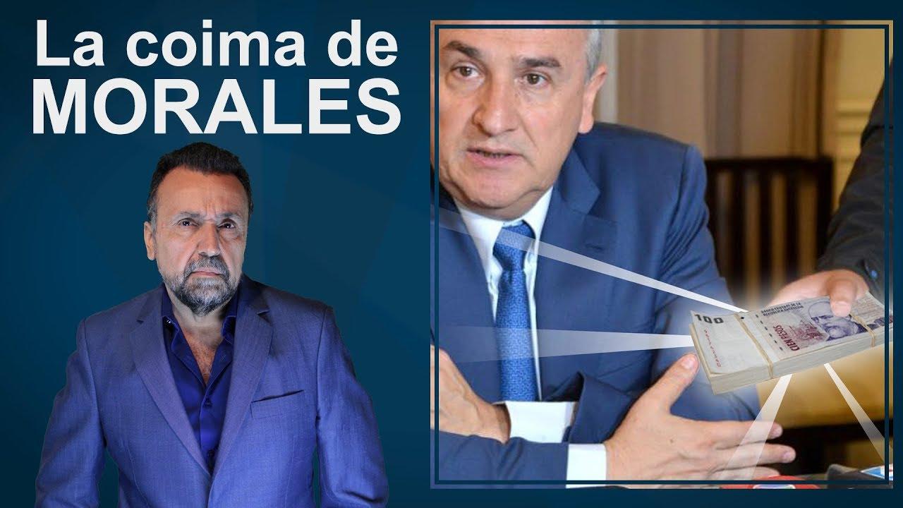 La coima de Morales | El Destape con Roberto Navarro