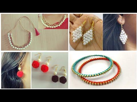 4 Handmade Jewellery | DIY | Jewelry Making | Handmade Jewelry Ideas