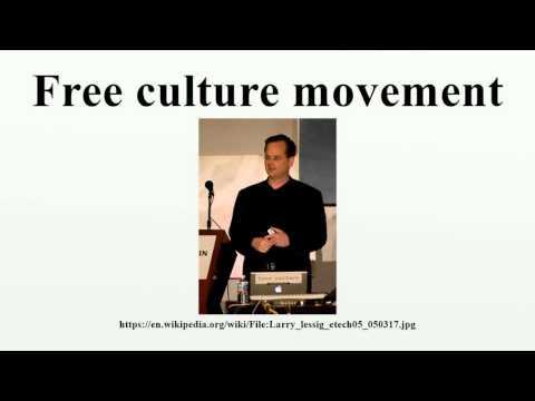 Free culture movement