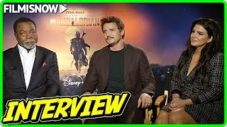 The mandalorian - pedro pascal, gina carano & carl weathers interviewdirected by jon favreau and starring kyle pacek, brendan wayne... after t...