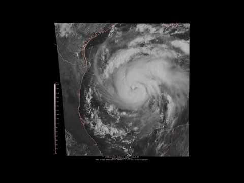 08/24/17 -Hurricane Harvey in the Gulf of Mexico