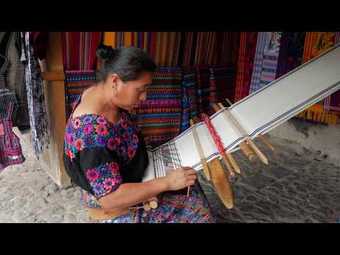The Art of Backstrap Weaving | Antigua, Guatemala