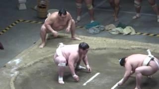 20170503 大相撲夏場所 稽古総見 高安vs遠藤など.