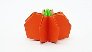 Origami Pumpkin (Jo Nakashima) - Halloween