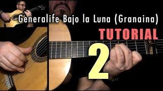 Arpeggio Exercise - 33 - Generalife Bajo la Luna (Granaina) by Paco de Lucia