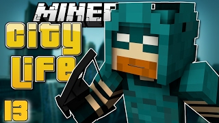 Minecraft: CYAN ARROW RETURNS! - City Life #13 (Minecraft Roleplay)