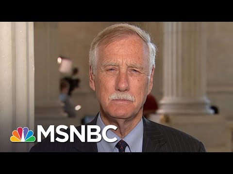 Sen. Angus King Details Tense Exchange At Intel Hearing | Morning Joe | MSNBC