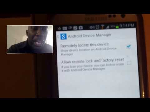 How To Track Your S3 S4 Phone If Lost Or Stolen