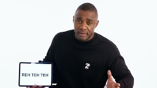 Idris Elba Teaches You British Slang | Vanity Fair