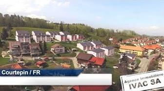 Promotion de 38 villas familiales à Courtepin / FR