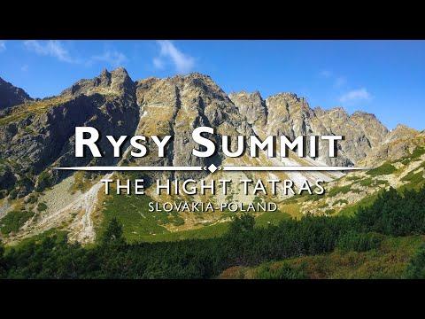 Rysy Summit - The High Tatras