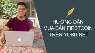 Hướng Dẫn Mua Bán Tiền Điện Tử tại YOBIT.net
