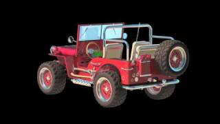 Video Urmel voll in Fahrt - Jeep turntable download MP3, 3GP, MP4, WEBM, AVI, FLV Oktober 2017