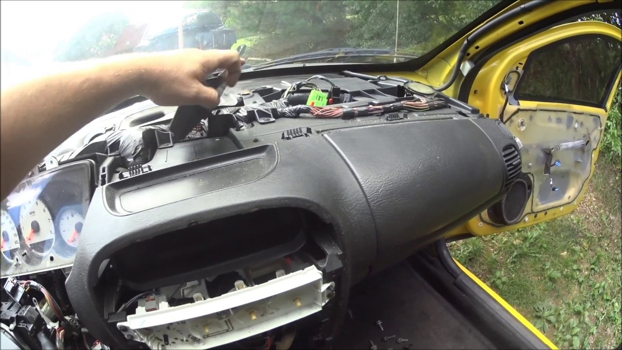 Srt4 Conversion Part 3 Dash Removal Youtube Srt 4 Fuse Box