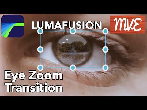 Eye Zoom Transition