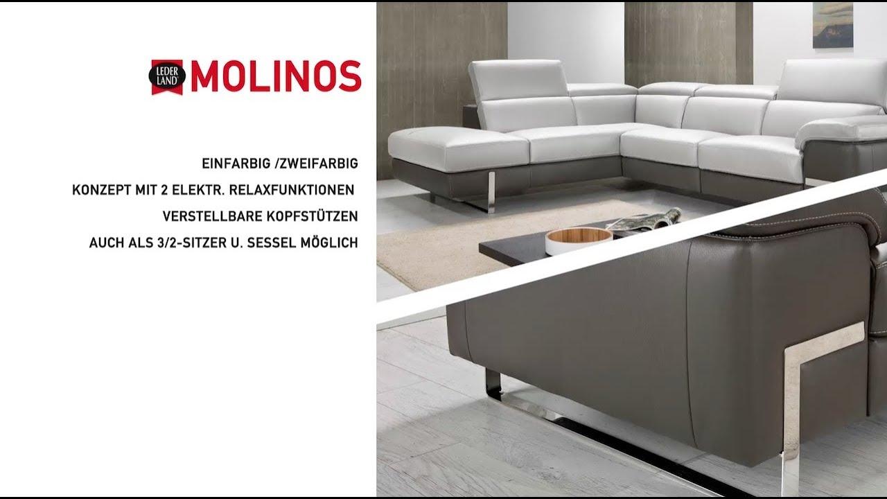 Neuheit Eckgarnitur Mit Zwei Relax Teilen Modell Molinos Von