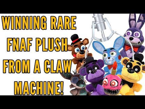 WINNING RARE FNAF PLUSH FROM A CLAW MACHINE!•Pandog76