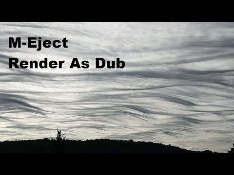 M-Eject - Render As Dub [ dub techno mix ]