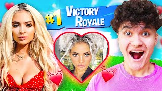 IF YOU WIN FORTNITE, I WILL DATE YOU (Ex Girlfriend & FaZe Jarvis)