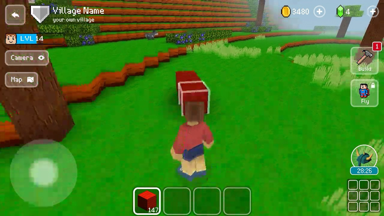Christianexe how to make your own house in block craft 3d for Make your own house 3d