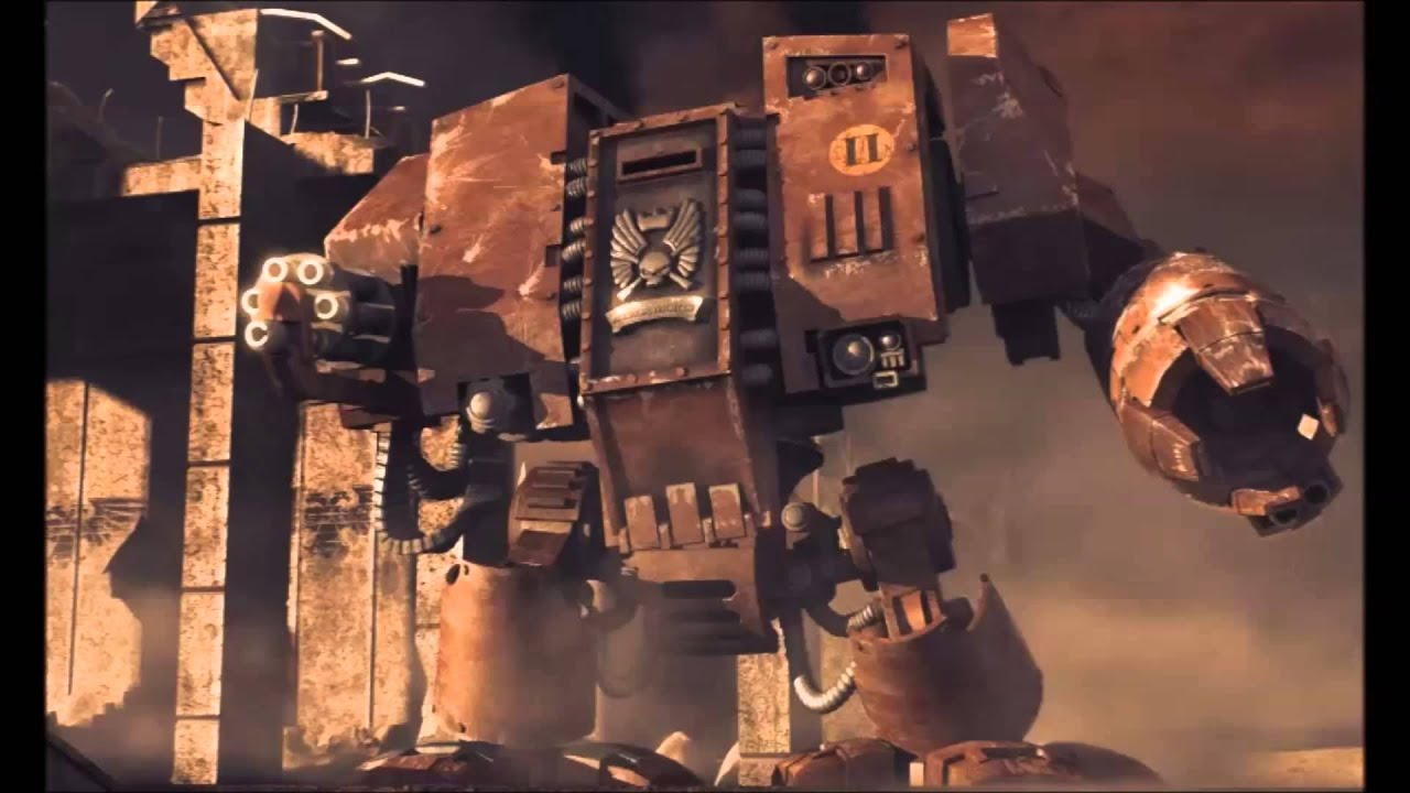 Warhammer 40000 Dawn Of War Dreadnought Quotes German Deutsch