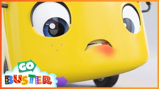 Buster's Wobbly Tooth SONG | Go Buster | Baby Cartoons |  ABCs and 123s | Episode