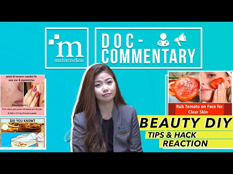 TIPS & HACKS BEAUTY DIY YANG VIRAL DI INTERNET! APA BETUL??!! | MAHARIS #DOCCOMMENTARY