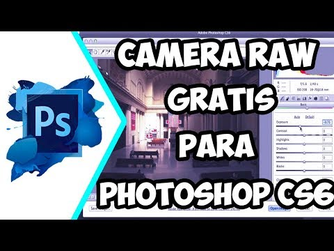 COMO DESCARGAR CAMERA RAW PARA PHOTOSHOP CS6 GRATIS 2018 | 1.0